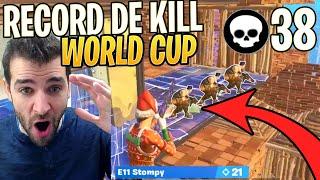 ⚡JE RÉAGIS AU RECORD DU MONDE DE KILL EN WORLD CUP : 38 KILLS !! Fortnite Saison 9