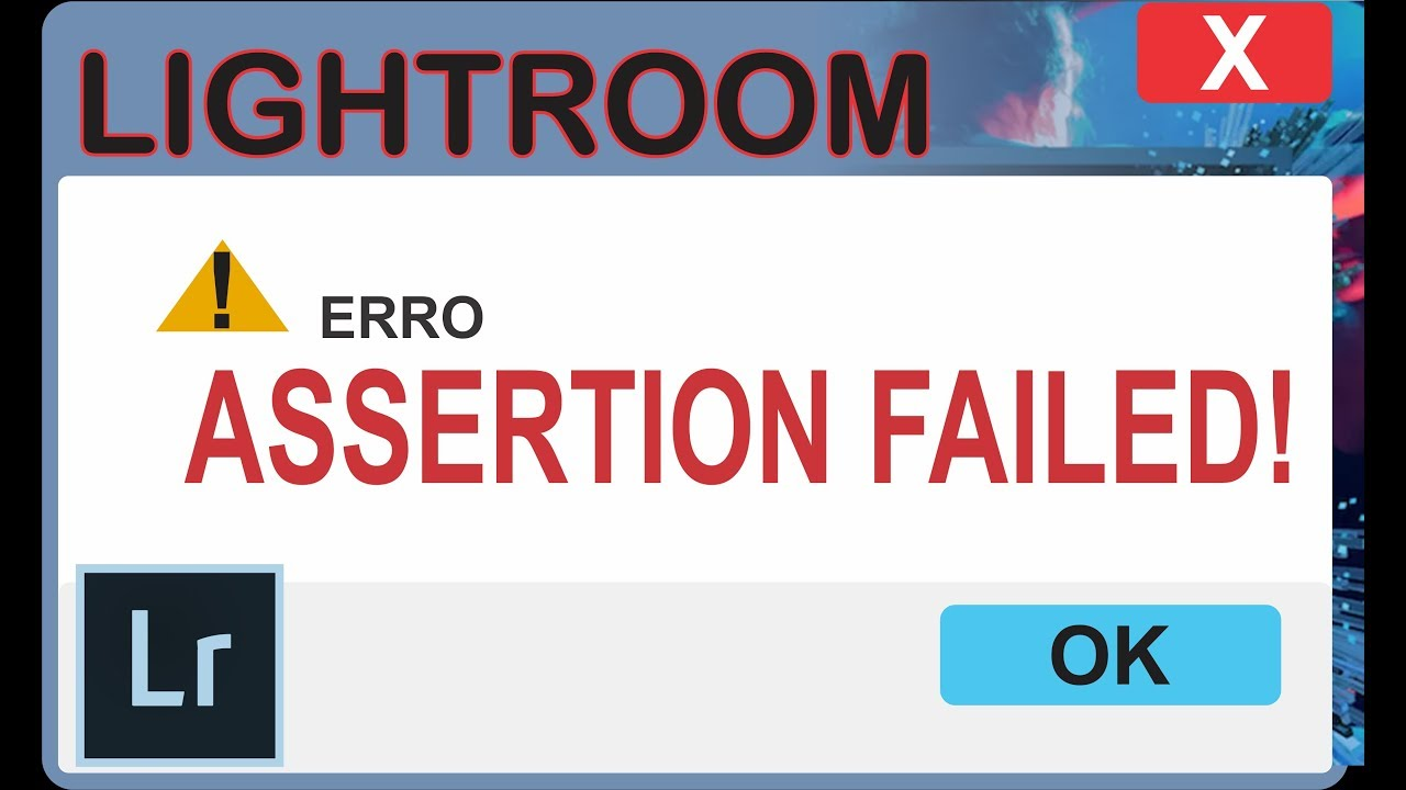 Erro LR Assertion failed