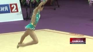 Выступление грузинской гимнастки на Гран-При 2014(http://www.vestikavkaza.ru/video/, 2014-03-05T13:15:18.000Z)