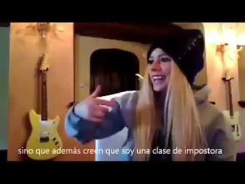 Avril Lavigne Hablando de su Supuesta muerte (Subtitulado)  / Avril Lavigne talking about her death