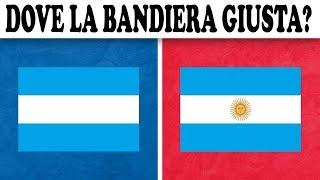 INDOVINA LA BANDIERA DELLA NAZIONALE CHALLENGE !!! Quiz di Calcio 2018