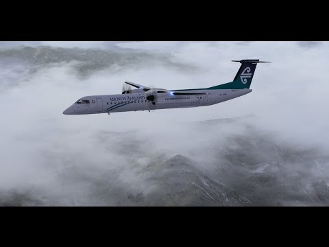 FSX-NZTG-NZAA MAJESTIC DASH 8 AIR NEW ZEALAND
