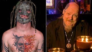 Paul Booth DARES Corey Taylor to Finish Chest Tattoo | Paul Booth's Last Rites