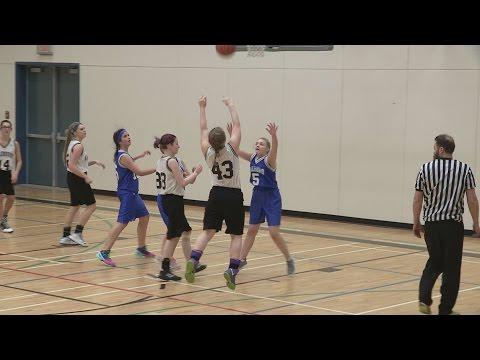 Valemount Secondary Jr Basketball  Valemount 9 Girls vs Fort St James