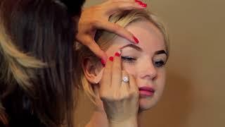 Мастер класс по оформлению бровей  zara brows