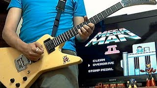 Mega Man 2 guitar medley - Rockman 2 - 24th anniversary tribute - Daniel Araujo