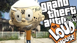 THE LOUD HOUSE THUG LIFE MOD W/ LINCOLN (GTA 5 PC Mods Gameplay)
