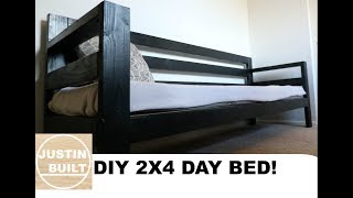Cheap and Easy 2x4 Day Bed