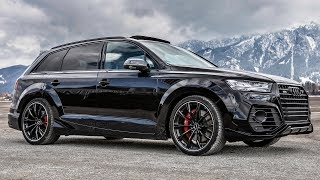MURDERED OUT 970NM(!!) 2019 AUDI SQ7 ABT WIDEBODY - The 520HP BIG BAD BEAST - Meanest SUV so far?