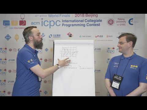 2018 ICPC Solution Video: Problem J. Uncrossed Knight's Tour