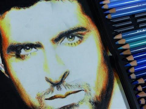 Drawing/shading Hrithik Roshan (Bollywood actor)