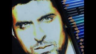 Drawing/shading Hrithik Roshan (Bollywood actor)