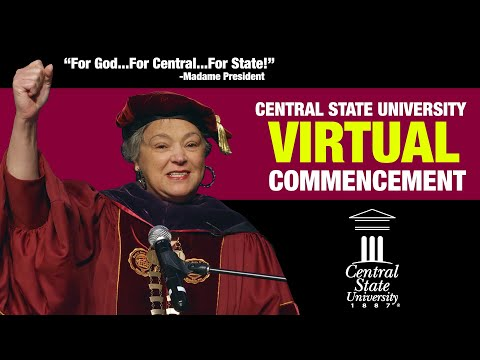 Central State University Virtual Commencement May 2020