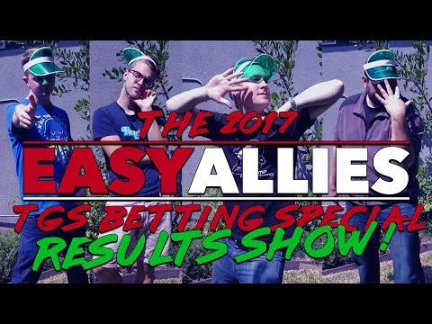 The Easy Allies TGS 2017 Betting Special Results Show!