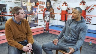 Chris Eubank Jr FULL & UNCUT INTERVIEW (includes PREVIOUSLY UNSEEN FOOTAGE)