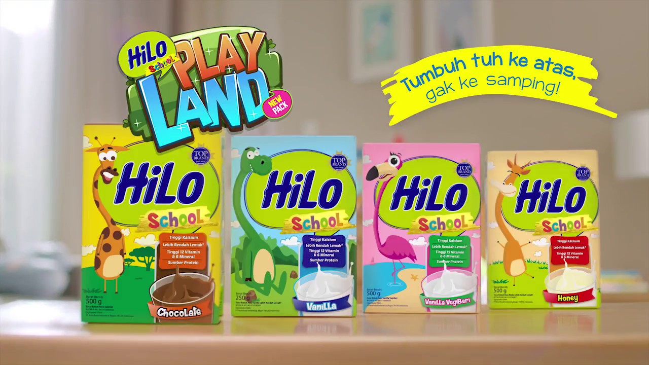 HiLo School Playland Augmented Reality Baru & Tambah Seru