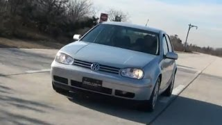 2000 Volkswagen Golf 1.8T GLS Hatchback Test Drive