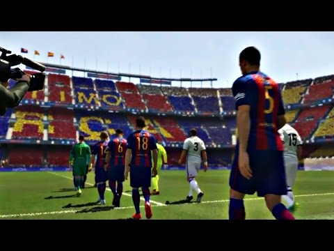 PES 2017 - Fc Barcelona Vs Real Madrid (Ps4 Gameplay - Superstar)