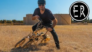 This electric scooter has a secret power: MYLO three wheeler off-road, hill climb test