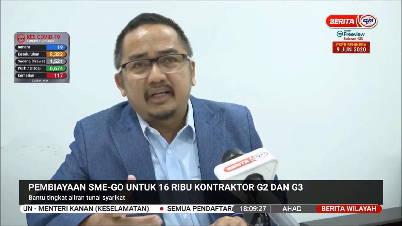 7 Jun 2020 Berita Wilayah Pembiayaan Sme Go Untuk 16 Ribu Kontraktor G2 Dan G3 Youtube