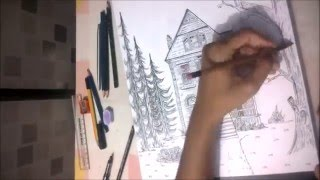 Drawing Victorian House