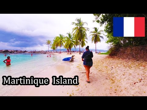 Martinique Island - Walking to the Beaches 2017 [4K]