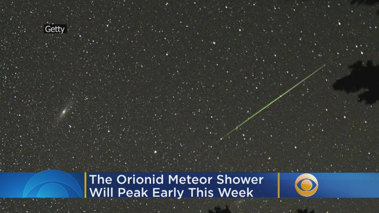 Halley's Comet is bringing a meteor shower that will peak tonight ...