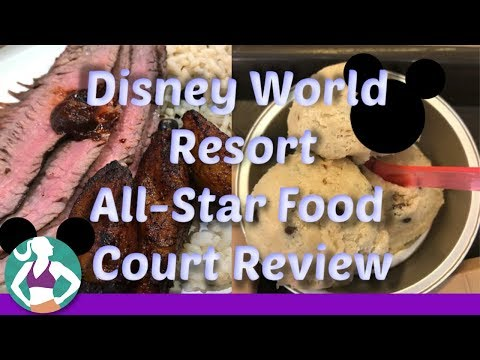 Disney All Star Music Resort Food Court: Healthy Review
