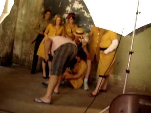 Cast of STUCK! getting shot by Dusti Cunningham