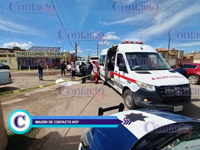 🚨🚨 Chofer ebrio arrolló y mató a un peatón por calle Colima.       #Durango