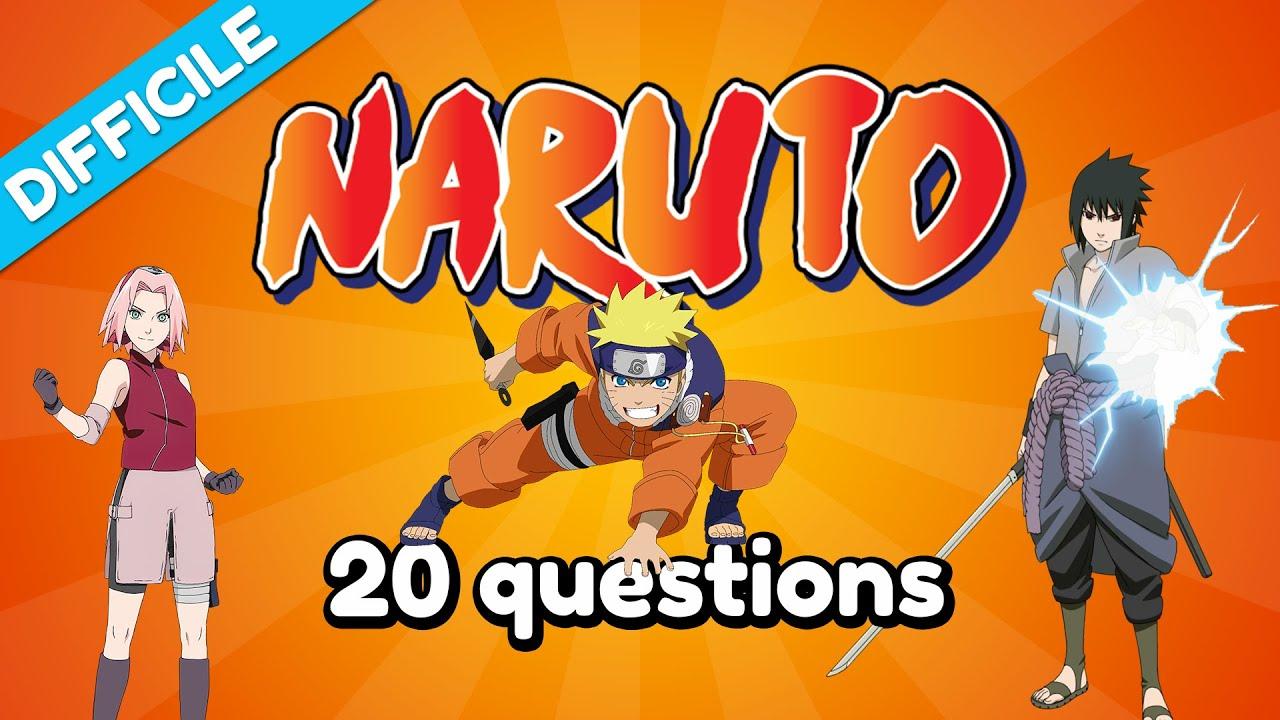 Quiz : Naruto - Difficile - 20 Questions - YouTube