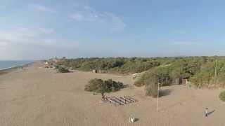 Marina di Castagneto Carducci...vista dal Drone.
