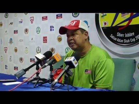 Malaysia 3 NewZealand 3 Press Conference. SAS cup Ipoh 2016