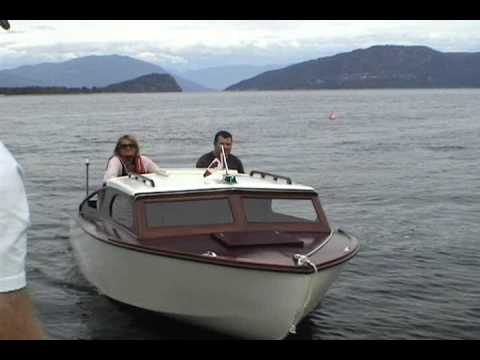 My mini cruiser boat youtube for Best small cabin boats