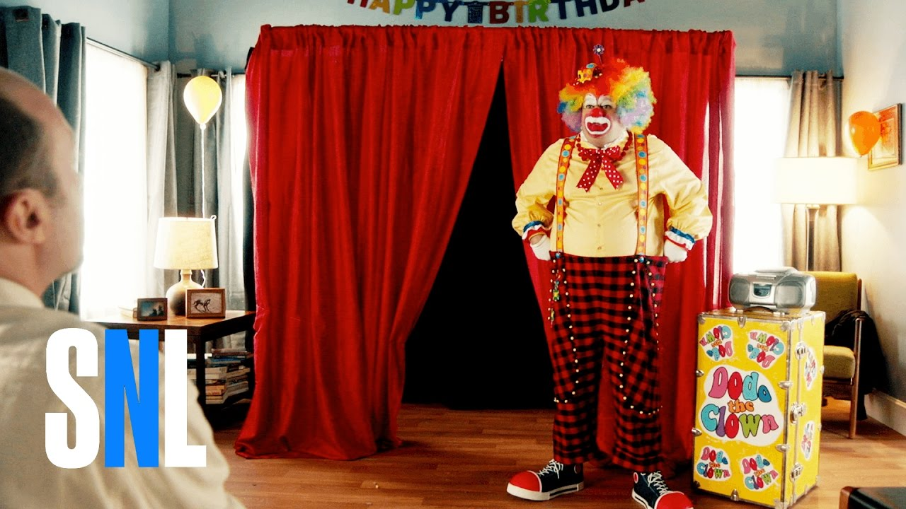 Birthday Clown Snl Youtube