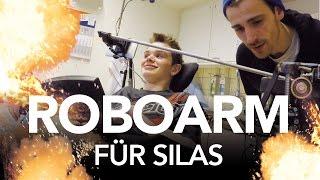 Roboterarm für Silas - Heimwerkerking Fynn Kliemann
