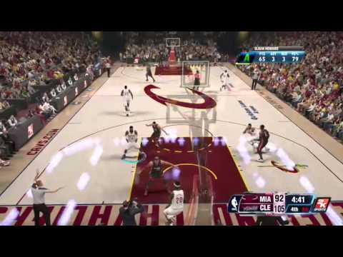 NBA 2K14 My Career - Chris Bosh Don't Want It! - 2 / 2