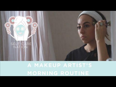 This makeup artist is living the dream with her 17-step morning routine