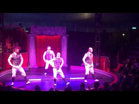 Russian Bar Acrobatics Circus Act Variety Entertainment Show