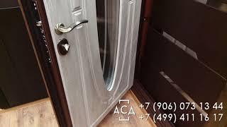 видео Двери со сплошным противосъемом
