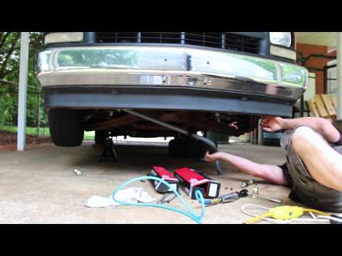 4/6 DROP KIT INSTALL ON 88-98CHEVY PICKUP PART5