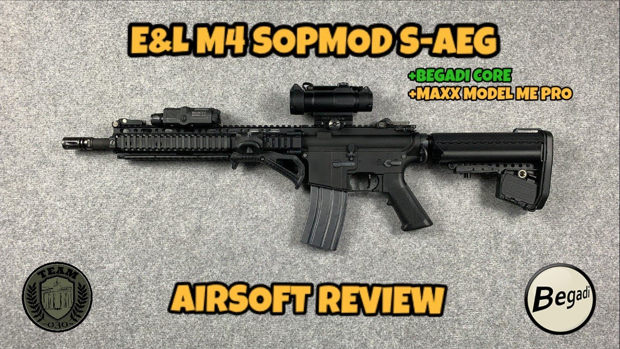 [REVIEW] E&L M4 SOPMOD II S-AEG (MAXX & CORE)