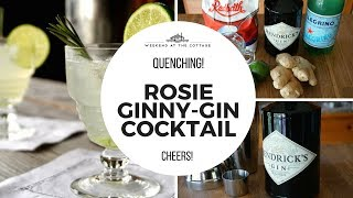 ROSIE GINNY GIN COCKTAIL recipe!