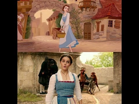 Beauty and the Beast | Belle | Little Town | 1991 Video | 2017 Soundtrack