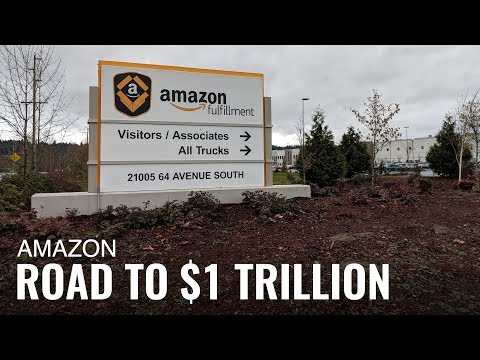 Amazon Is on its Way to Becoming a Trillion Dollar Company