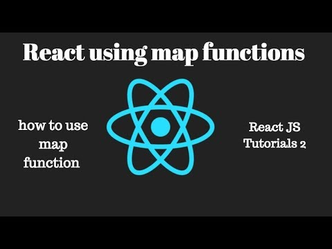 How to use map function in React Js? / React JS Tutorials 2