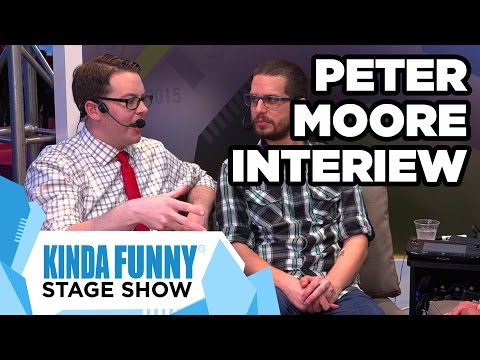 EA's Peter Moore Chats with Collin & Greg - Kinda Funny Stage Show E3 2015
