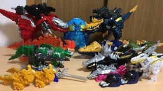 竜想像合体シリーズ第105弾の今回は、先日発売された空の騎士竜プテラードンを加えた全17体による竜想像全合体です! 今まで発売した騎士竜を...