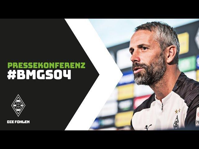 Pressekonferenz vor Schalke   15. August 2019