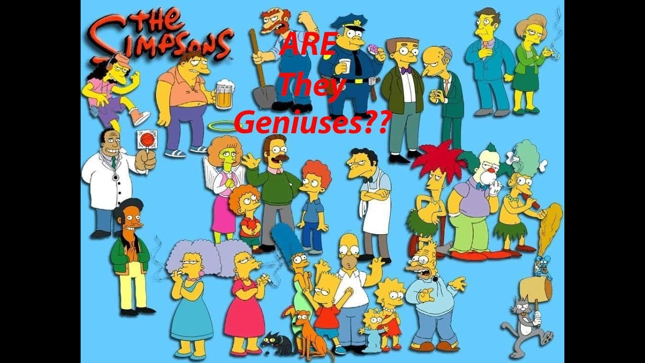 Cartoon Conspiracy - The Simpsons - The Simpson Family Are ...